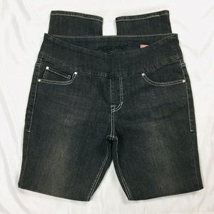 JAG Jeans High Rise Skinny  Pull On Embroiddered
